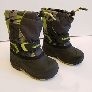 Kamik toddler waterproof lined snow boots